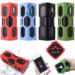 ลำโพง Bluetooth กันน้ำกันฝุ่น พร้อม Power Bank 3600mAh ในตัว